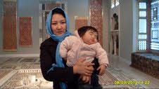 Φωτό: από την επίσκεψη των Αφγανών μητέρων στο Μουσείο Ισλαμικής Τέχνης την Ημέρα της Γυναίκας